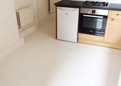 Quickstep Impressive White Laminate Floor Fitted in Tooting