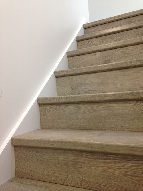 Quickstep Elite – staircase installation.