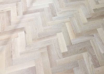 Herringbone Wooden Floor