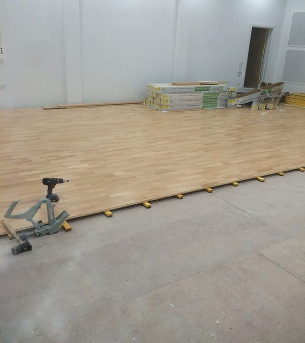 Suspended Wooden Flooring for Gym